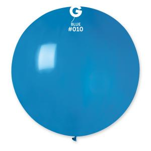 Latexballonger - Blå Runda 80 cm 25-pack