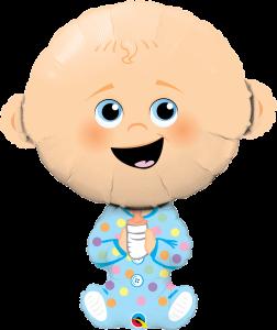 Folieballong - Baby Boy 96 cm