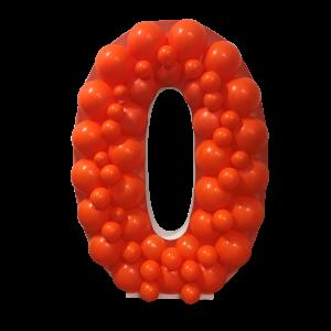 Ballongform - Nummer 0 - 120 cm