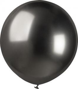 Latexballonger - Shiny Space Grey 48 cm Styckevis