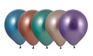 Latexballonger Kombo - Chrome Mirror Kombo 10-pack