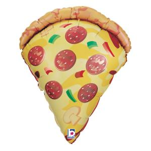 Folieballong - Pizza Slice 74 cm