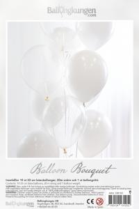 Balloon Bouquet - White
