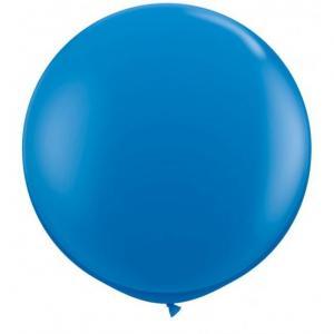 Jätteballong - Blå 90 cm
