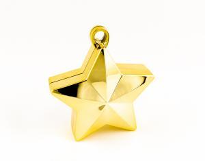 Ballongtyngd guldstjärna