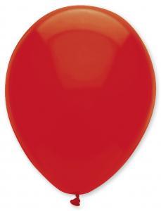 Latexballonger Enfärgade - Blodröda 25-pack