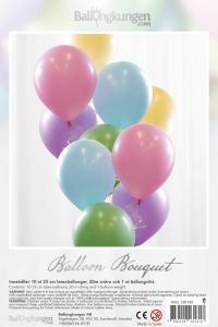 Balloon Bouquet - Pastel