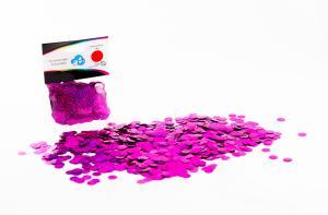 Ballongglitter Holografisk Rosa