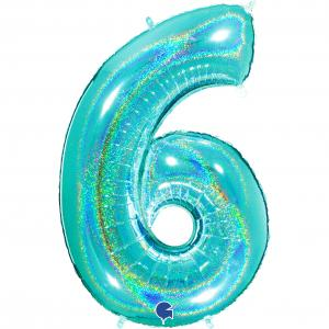 Ballongsiffra - Sex Glitter Tiffany 100 cm