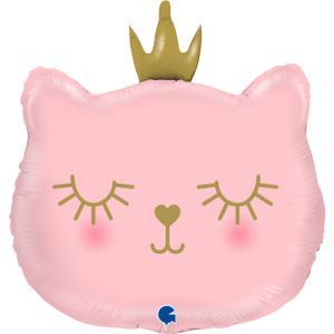 Folieballong - Cat Princess Shape 66 cm