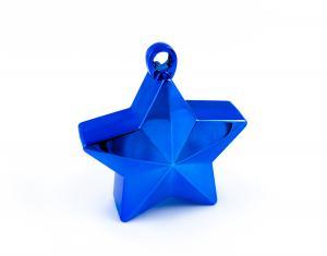 Ballongtyngd - Stjärna Blå 170g