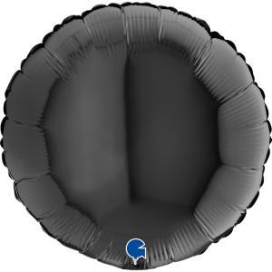 Rund Svart ballong