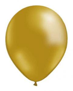 Guldfärgade ballonger