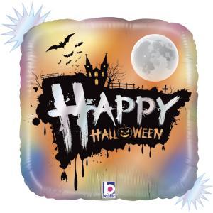 Folieballong - Opal Happy Halloween 45 cm