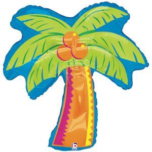 Folieballong - Tropical Palm Tree Shape 94 cm