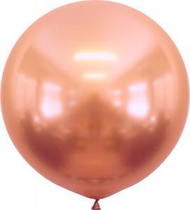 Latexballonger - Rose Gold Chrome 60 cm 2-pack