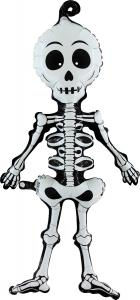 Folieballong - Linky Scary Skeleton 74 cm