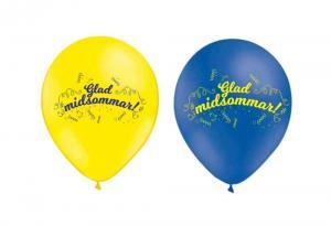 Latexballonger - Glad midsommar 10-pack