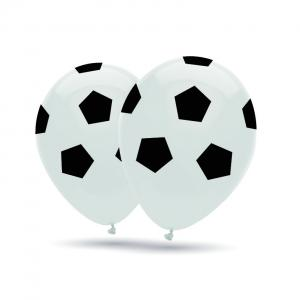 Latexballonger - Fotbollar 10-pack