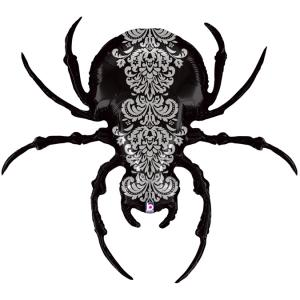 Folieballong - Pretty Scary Spider 119 cm