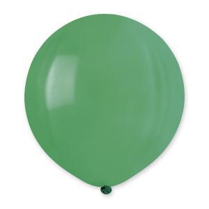 Latexballong - Grön Rund 80 cm