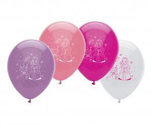 Ballonger med prinsessor