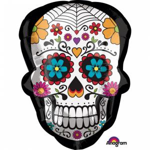 Folieballong - Day Of The Dead Shape