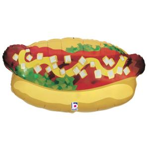 Folieballong - Hot Dog 81 cm