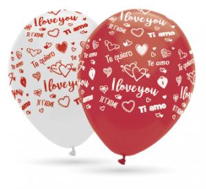 Latexballonger - I Love You 10-pack