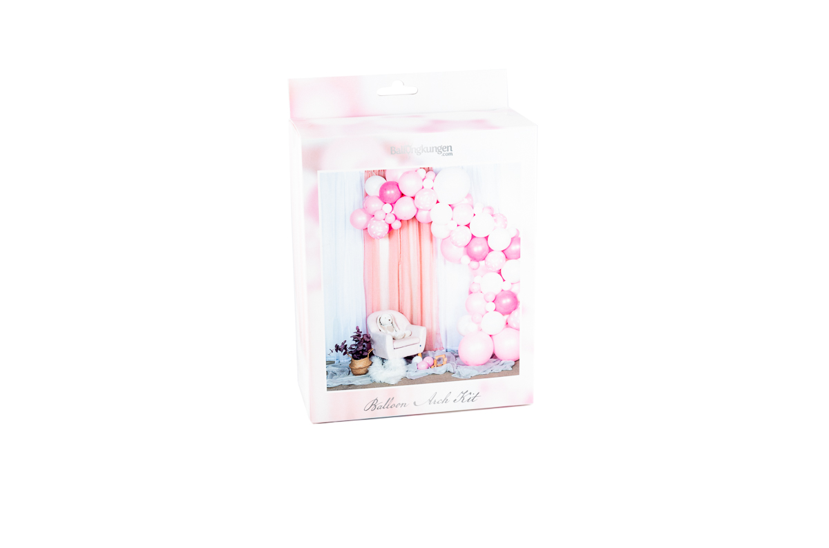 Balloon Arch Kit - Baby Pink